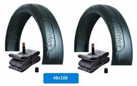 Babakocsi belső és külső gumi garnitúra (2 db) 48*188