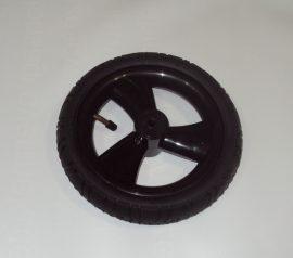 """Delta Pumpálható (tömlős) fekete 10"""" Babakocsi kerék első kicsi"""