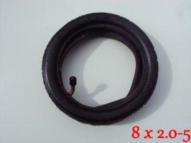 Babakocsi belső és külső gumi 8x2.0-5